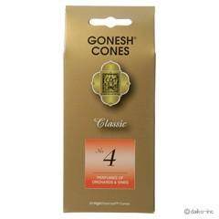 ガーネッシュ GONESH ナンバー インセンス コーン No.4 (オーチャード & ヴァイン) 25ヶ入 アロマ