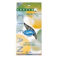日本香堂 NIPPONKODO Roomy(ルーミィ) インセンス スティック クリーン 玄関用 24本 アロマ ROOMY INCENSE STICK CREAN