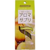 日本香堂 NIPPONKODO aromasuppli(アロマサプリ) インセンス スティック マンゴー&グレープフルーツ 8本×2種 アロマ