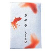 日本香堂 NIPPONKODO 夢の夢 爽水の香(さわみず) お香 スティック 12本 アロマ