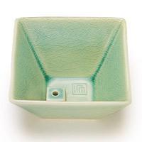 【日本香堂 香器】日本香堂 NIPPONKODO 縁 香器(ゆかり こううつわ) 青磁色 アロマ