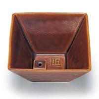 日本香堂 NIPPONKODO 縁 香器(ゆかり こううつわ) 飴釉(あめゆう)色 アロマ