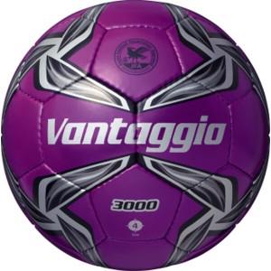 モルテン MOLTEN ヴァンタッジオ3000 サッカーボール 4号球 [カラー:メタリックパープル×ブラック] #F4V3000-VK スポーツ・アウトドア