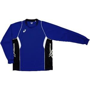 アシックス バレーボール用 ゲームシャツLS XW1315 [カラー:Jブルー×ブラック] [サイズ:O] #XW1315 ASICS 送料無料 14%OFF
