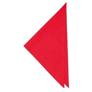 セブンユニフォーム SEVEN UNIFORM 三角巾 JY4922-2 赤 キッチン用品
