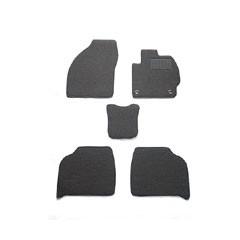 天野 AMANO NBOX スラッシュ 年式:H26〜 (サウンドマッピング有) フロアマット一式 スタンダード [カラー:ブラック] カー用品