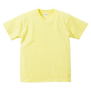 ユナイテッドアスレ 5.6オンス ハイクオリティーTシャツ(アダルト) カラー [カラー:ライトイエロー] [サイズ:XXL] #5001-01CX-487