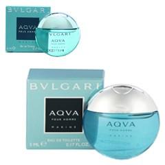 ブルガリ BVLGARI アクア プールオム マリン ミニ香水 EDT・BT 5ml 香水 フレグランス AQVA POUR HOMME MARINE