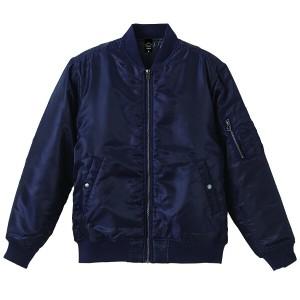 ユナイテッドアスレ タイプ MA-1ジャケット(中綿入り) [カラー:ネイビー] [サイズ:L] #7480-01-86 UNITED ATHLE 送料無料 33%OFF