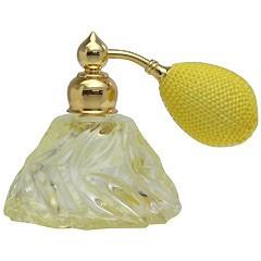 カラフル クリスタルアトマイザー ドイツ製 クリスタル香水瓶 28078 (クリスタル イエロー) 25ml