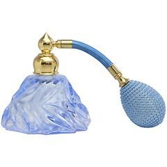 ヒロセ アトマイザー HIROSE ATOMIZER カラフル クリスタルアトマイザー ドイツ製 クリスタル香水瓶 30078 (クリスタル ブルー) 25ml