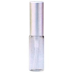 ヒロセ アトマイザー HIROSE ATOMIZER クリアー ガラスアトマイザー アルミキャップ 48095 (CLガラスAT シルバー) 4ml