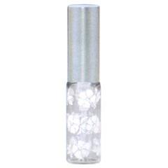 ヒロセ アトマイザー HIROSE ATOMIZER MSハイビスカス ガラスアトマイザー アルミキャップ 58087 ホワイト 4ml