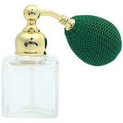 ヒロセ アトマイザー HIROSE ATOMIZER クリスタル ミニ アトマイザー ドイツ製クリスタル香水瓶 260617 (クリスタルミニシカク) 16ml