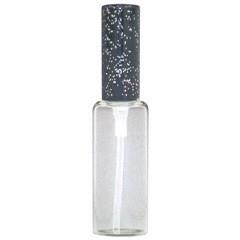 ヒロセ アトマイザー HIROSE ATOMIZER ラメ アルミキャップ ガラス アトマイザー 65188 (ラメCAP 10ML ブラック) 10ml