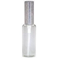 ヒロセ アトマイザー HIROSE ATOMIZER ラメ アルミキャップ ガラス アトマイザー 65188 (ラメCAP 10ML グレー) 10ml