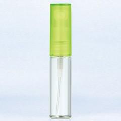 ヤマダアトマイザー YAMADA ATOMIZER グラスアトマイザー プラスチックポンプ 無地 4325 キャップ グリーン 4ml