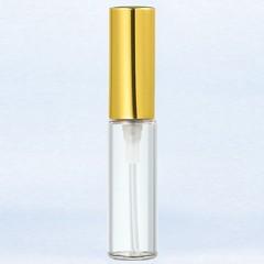 ヤマダアトマイザー YAMADA ATOMIZER グラスアトマイザー プラスチックポンプ 無地 5201 アルミキャップ ゴールド 4ml