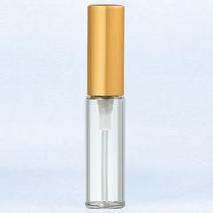 ヤマダアトマイザー YAMADA ATOMIZER グラスアトマイザー プラスチックポンプ 無地 5203 アルミキャップ ゴールドつや消し 4ml