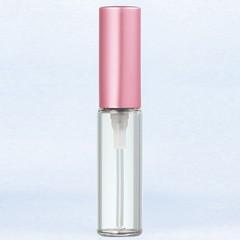 ヤマダアトマイザー YAMADA ATOMIZER グラスアトマイザー プラスチックポンプ 無地 5205 アルミキャップ ピンクつや消し 4ml