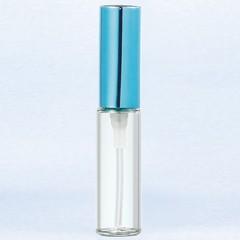 ヤマダアトマイザー YAMADA ATOMIZER グラスアトマイザー プラスチックポンプ 無地 5209 アルミキャップ ブルー 4ml