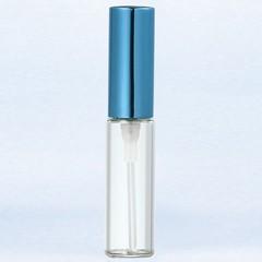 ヤマダアトマイザー YAMADA ATOMIZER グラスアトマイザー プラスチックポンプ 無地 5210 アルミキャップ パープル 4ml