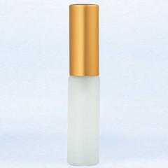 ヤマダアトマイザー YAMADA ATOMIZER グラスアトマイザー プラスチックポンプ 無地 6241 フロスト アルミキャップ ゴールドつや消し 4ml