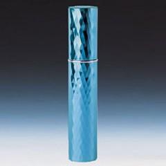 ヤマダアトマイザー YAMADA ATOMIZER メタルアトマイザー メタルポンプ 22104 15mm径 ダイヤカット ブルー 3.5ml