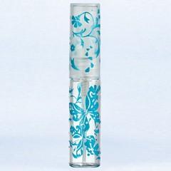 ヤマダアトマイザー YAMADA ATOMIZER グラスアトマイザー プラスチックポンプ 柄 50132 バタフライ ブルー 4.7ml