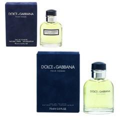DOLCE&GABBANA ドルチェ&ガッバーナ プールオム EDT・SP 75ml 香水 フレグランス DOLCE&GABBANA POUR HOMME