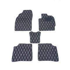送料無料 天野 AMANO ステップワゴン 年式:H17〜H21 フロアマット一式 ダイヤモンド [カラー:ブラック×グレー] カー用品