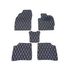 天野 AMANO フレア 年式:H24〜 フロアマット一式 ダイヤモンド [カラー:ブラック×グレー] カー用品