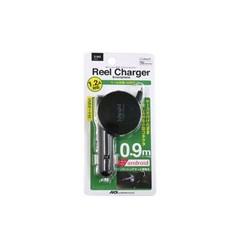 アークス AXS リールチャージャー USBポート付き ブラック #X‐043 カー用品