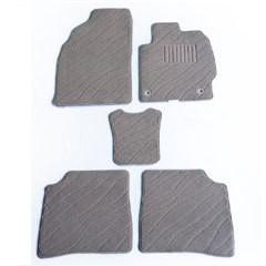 天野 AMANO フレア 年式:H24〜 フロアマット一式 エクセレント [カラー:ループ&カット ブラック] カー用品