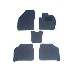 天野 AMANO ファミリア セダン 年式:H10〜H15 (2WD) フロアマット一式 エコノミー [カラー:ブラック] カー用品