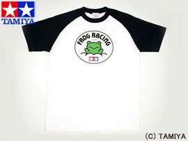 TAMIYA タミヤ オリジナルグッズ ラグランTシャツ半袖 (マイティフロッグ) S 玩具