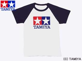 TAMIYA タミヤ オリジナルグッズ ラグランTシャツ半袖 (青) S 玩具