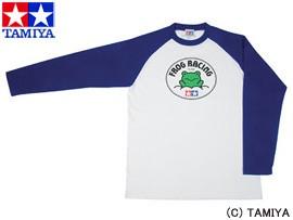 TAMIYA タミヤ オリジナルグッズ タミヤ長袖Tシャツ(マイティフロッグ) S 玩具
