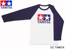 TAMIYA タミヤ オリジナルグッズ ラグランTシャツ長袖 (青) S 玩具