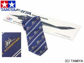 TAMIYA タミヤ オリジナルグッズ タミヤネクタイ・ナイトホーク (紺) 玩具