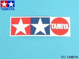 TAMIYA タミヤ オリジナルグッズ タミヤGPステッカー(小) 2枚セット 玩具
