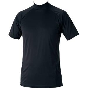 ゼット ZETT 野球用(ジュニア) ハイブリッドアンダーシャツ 少年用ハイネック半袖 [カラー:ブラック] [サイズ:130] #BO1720J-1900