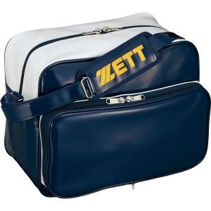 ゼット セカンドバッグ ショルダータイプ [カラー:ネイビー×ホワイト] [容量:約42L] #BA563-2911 ZETT 送料無料 9%OFF