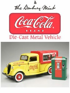 ダンバリーミント 1/24 ダイキャストカー 1935年 コカ コーラ デリバリー トラック DANBURY MINT 送料無料 10%OFF 玩具