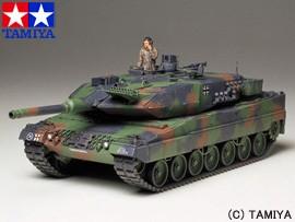 タミヤ 1/35 ミリタリーミニチュアシリーズ No.242 ドイツ連邦軍主力戦車 レオパルド2 A5 TAMIYA 送料無料 玩具