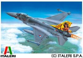イタレリ ITALERI 1/72 航空機 No.1271 ロッキード マーチン F-16A/B ファイティング ファルコン 玩具