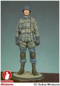 アンドレア・ミニチュアズ ANDREA MINIATURES 第二次世界大戦 54mm S5-F20 ドイツ降下猟兵(1943年) 玩具