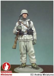 アンドレア・ミニチュアズ ANDREA MINIATURES 第二次世界大戦 54mm S5-F31 ドイツ歩兵(西部戦線1945年) 玩具