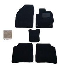 天野 AMANO AZワゴン 年式:H14〜H15 (フロアシフト) フロアマット一式 スクエア [カラー:ブラック] カー用品