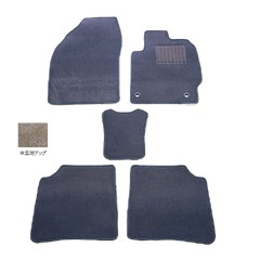天野 AMANO フレア 年式:H24〜 フロアマット一式 スクエア [カラー:グレー] カー用品